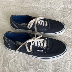Vans Men's Skate Shoes Navy 8.5